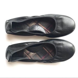 Born Black Leather Ballet Shoes